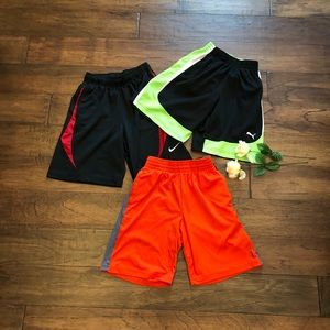 Nike, Puma, Reebok